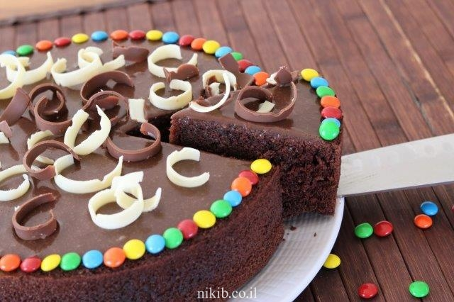 עוגת שוקולד בחושה מעולה