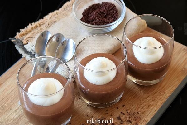 מוס שוקולד מפנק בקלי קלות