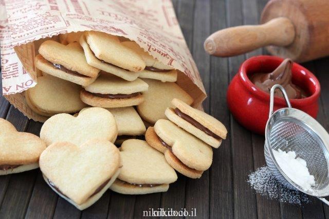 עוגיות סנדוויץ שוקולד