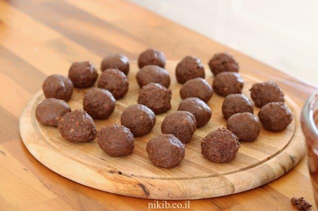 כדורי שוקולד לילדים