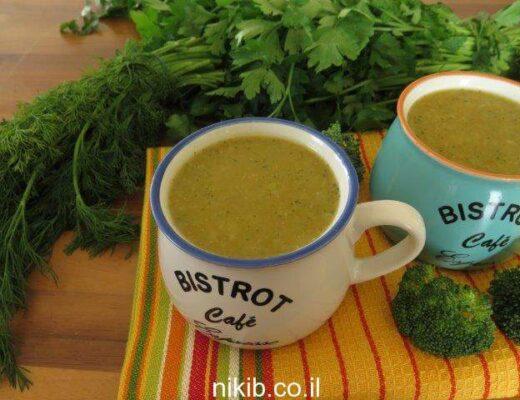 מרק ברוקולי ובטטות