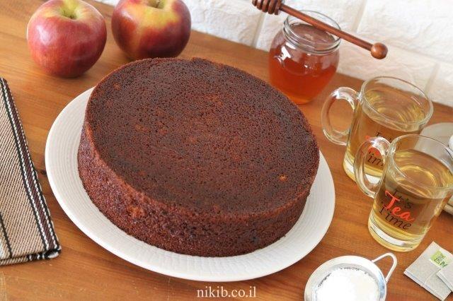 עוגת דבש בחושה