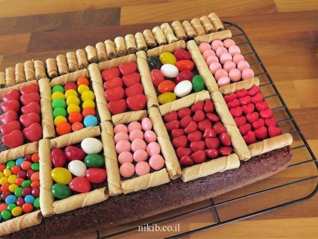 עוגת שוקולית ליום הולדת