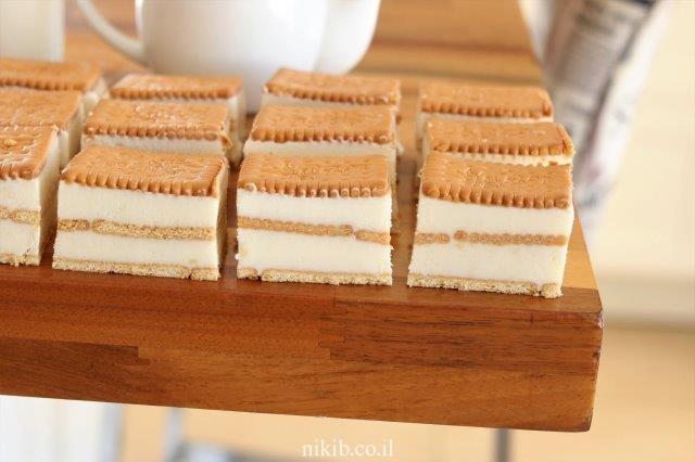 עוגת ביסקוויטים דיאטטית