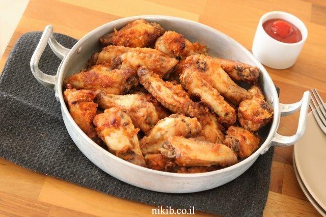 כנפי עוף בתנור