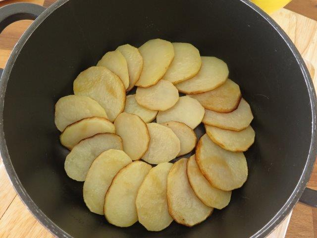 מאפה פיתות ותפוחי אדמה