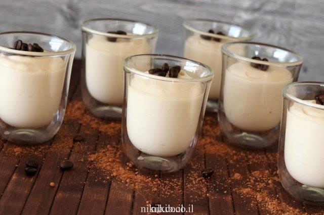 גלידת מסקרפונה קפה