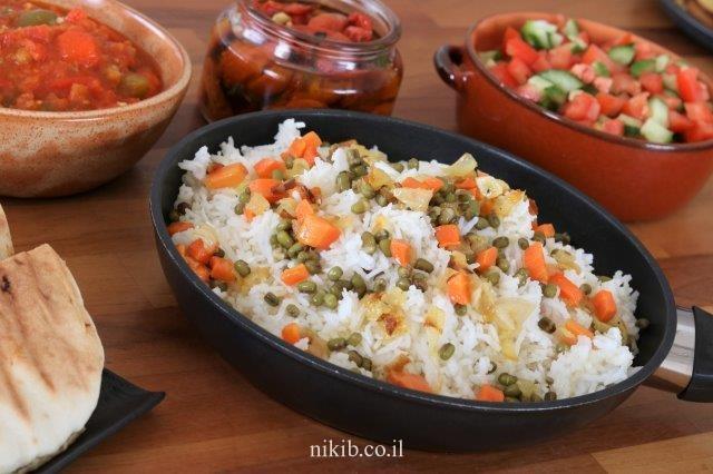 אורז עם מש