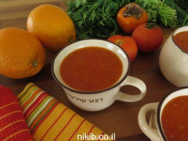 מרק שום ועגבניות