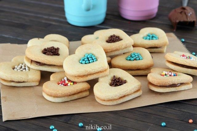 עוגיות שוקולד עם סוכריות