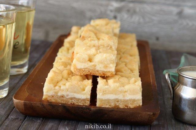 עוגיות גבינה ושוקולד צ'יפס