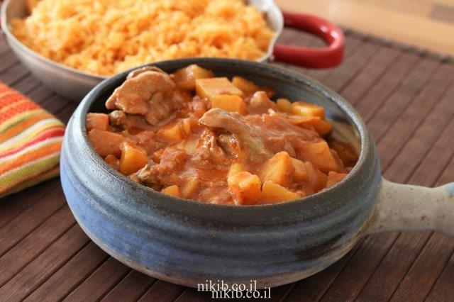 תבשיל כבד ותפוחי אדמה