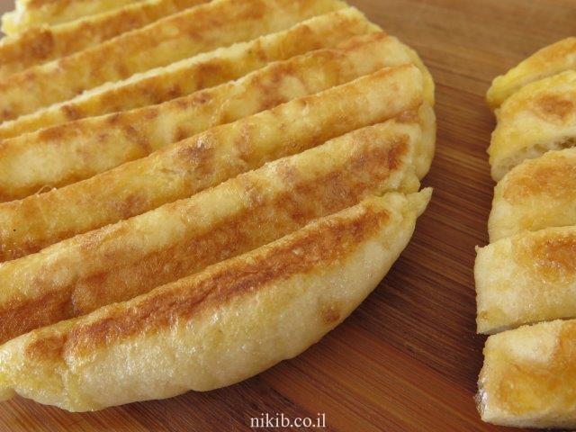 פרנץ טוסט פיתה עם גבינה