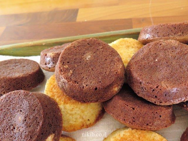 שוקולדיות עם שוקולד צ'יפס
