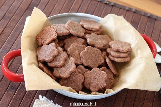 עוגיות שוקולד פשוטות