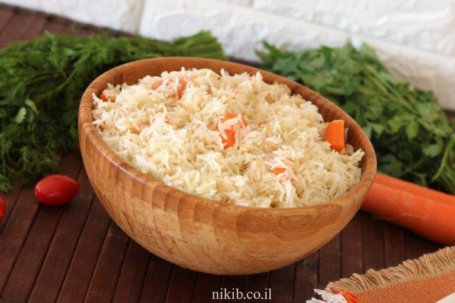 אורז עם גזר בתנור