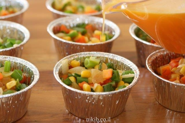 מאפינס ירקות עם פטנט!