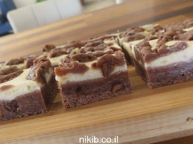 עוגיות שוקולד צ'יפס וגבינה