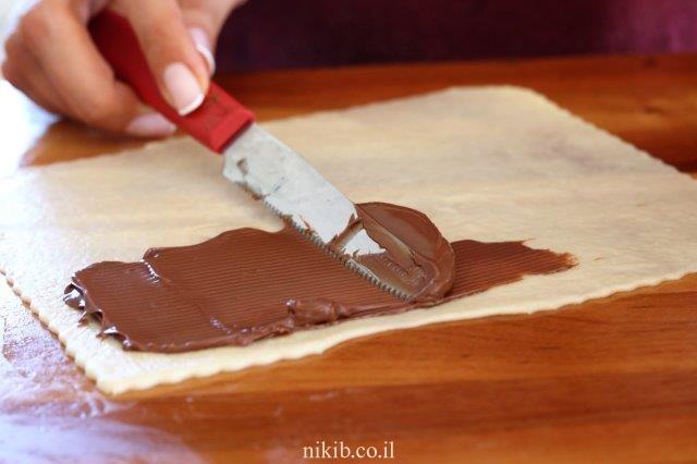 סהרוני שמרים עם שוקולד
