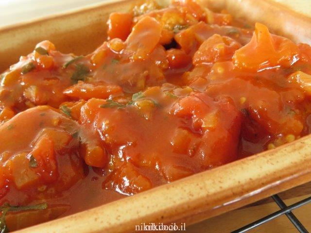 קציצות דג ברוטב עגבניות