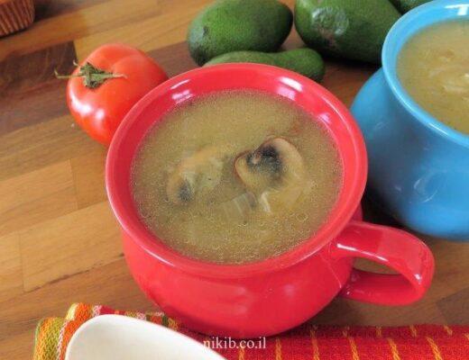 מרק בצל מוקרם