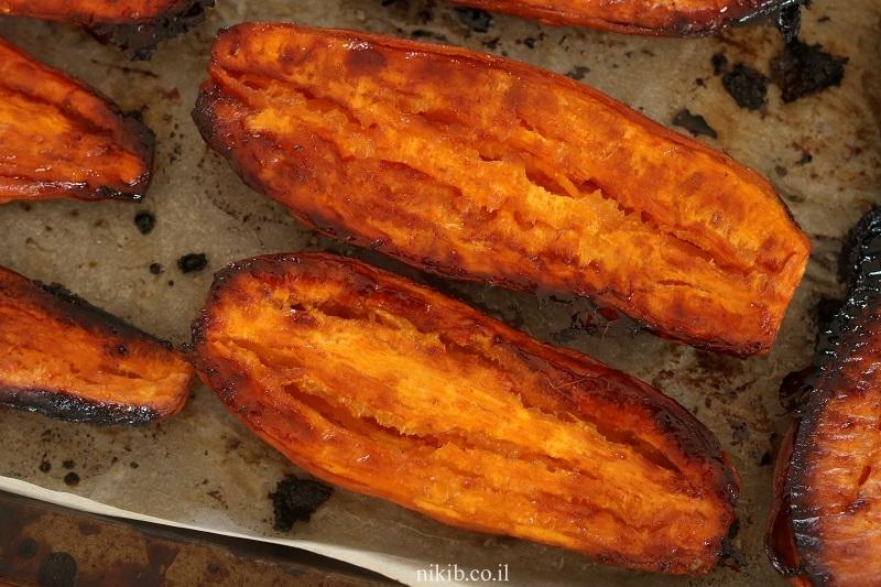 בטטות צלויות בתנור