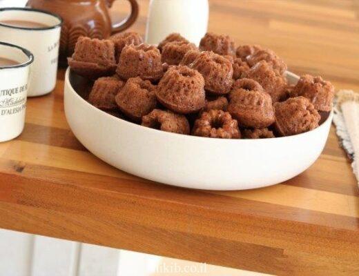 מאפינס שוקולד פרווה