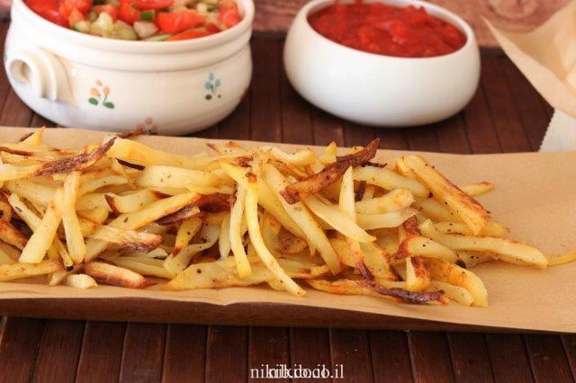 תפוחי אדמה דיאטטים בתנור
