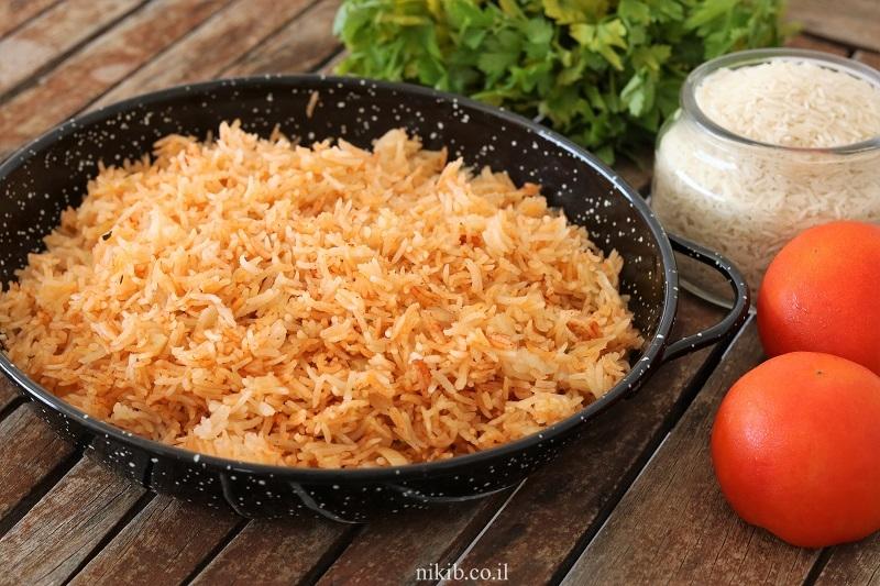 אורז בסמטי כתום מעולה!