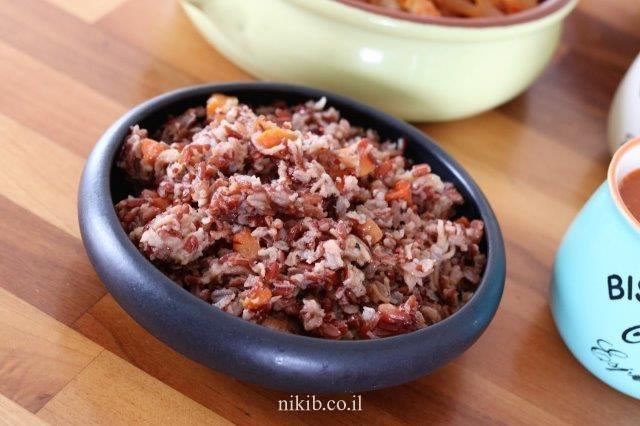 אורז אדום מלא
