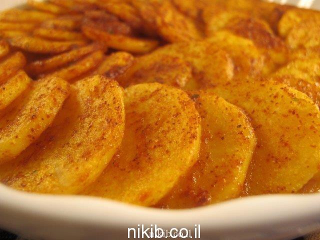 תפוחי אדמה בגריל