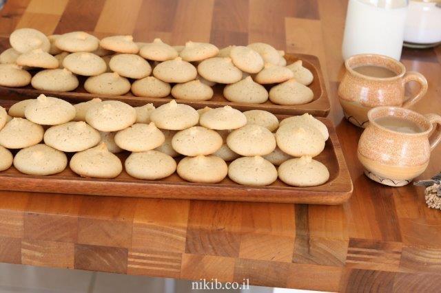 עוגיות טחינה פרווה