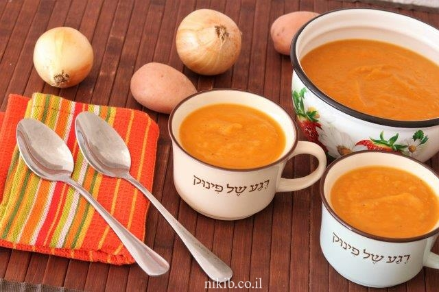 מרק בטטה הכי טעים שיש!