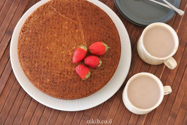 עוגת מייפל רכה ועסיסית