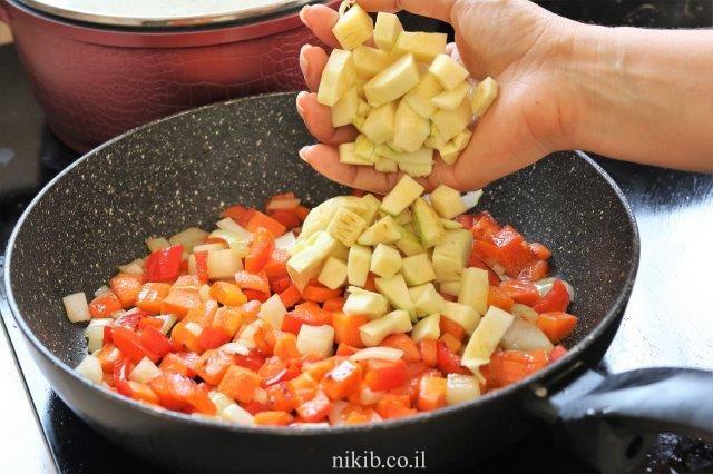 פרגיות עם אורז וירקות
