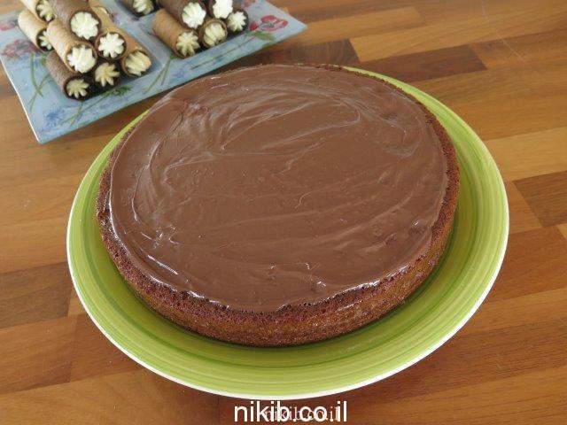 עוגת שוקולית קוקוס