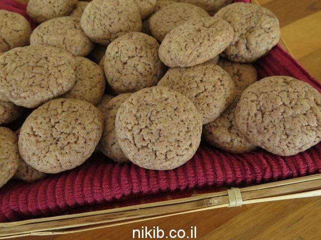 עוגיות שוקולד בננה
