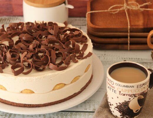 עוגת מוס קפה שוקולד משגעת וממכרת!