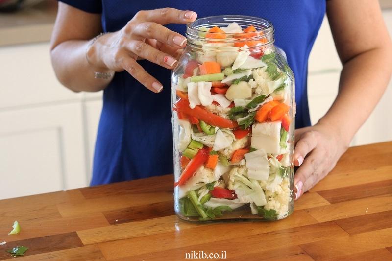 ירקות מוחמצים ביתיים