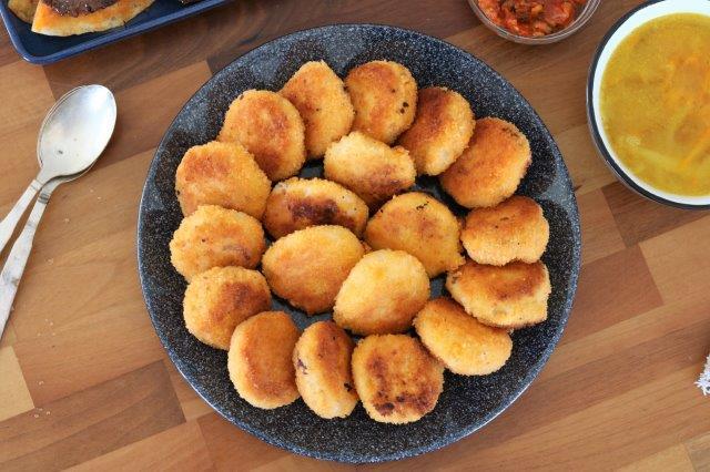 לביבות פירה עם גבינה