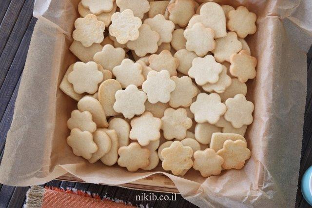עוגיות חמאה וקוקוס