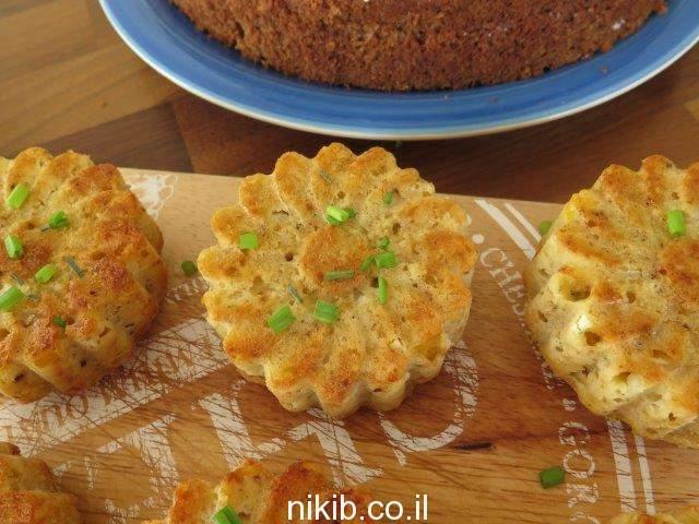 מאפינס גבינות ותירס