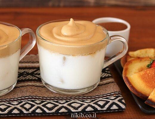קפה מוקצף כמו בבית קפה
