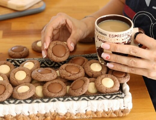 עוגיות מטבעות שוקולד