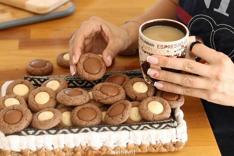 עוגיות מטבעות שוקולד ממכרות!
