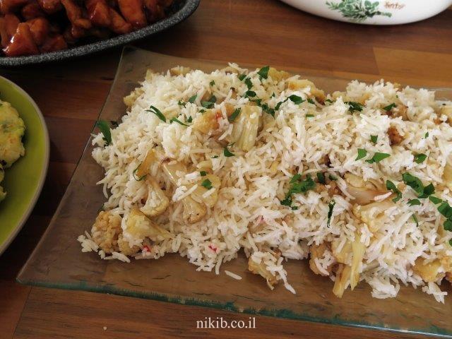 אורז עם כרובית