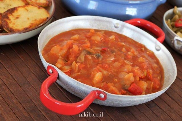 תבשיל עגבניות מעולה!