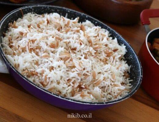 אורז עם פתיתים
