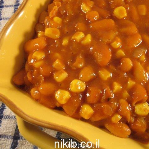 תבשיל שעועית ואורז