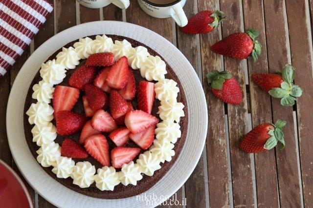 עוגת שוקולד עם קמח ללא גלוטן